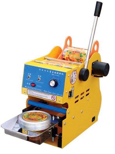 maquina selladora de vasos semi automatica manual